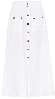 Melissa Odabash Alisa cotton maxi skirt