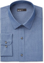 Bar III Men's Slim-Fit Chambray Solid Dress Shirt, Only at Macy's