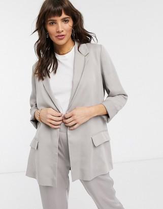 AllSaints Alva blazer in grey