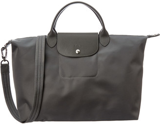 Longchamp Le Pliage Neo Large Nylon Short Handle Tote