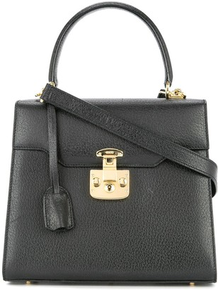 Gucci Pre-Owned Lady Lock Logos 2way Hand Bag