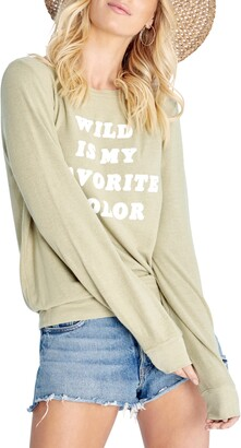 Wildfox Couture Favorite Color Brushed Sweatshirt