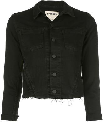 L'Agence cropped jacket