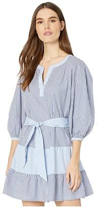 Parker Jenna Combo Dress (Coastal Stripe) Women's Dress