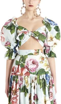Dolce & Gabbana Floral Printed Top