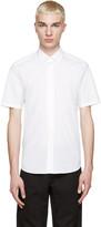 Marc Jacobs White Silk Trim Shirt