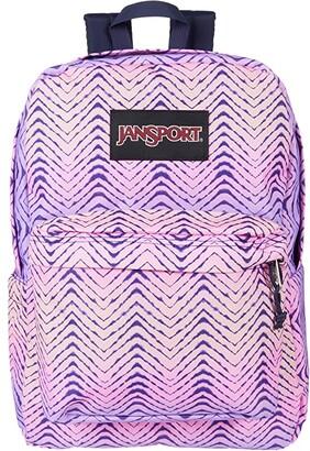 JanSport Superbreak(r) Plus (Chevron Fade) Backpack Bags
