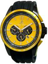 Adee Kaye Men's AK7141-M Ak7141/Yl Artfully Designed Dial Protected With A Durable Mineral Crystal Watch