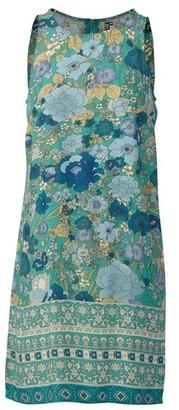 Dorothy Perkins Womens Izabel London Green Floral Print Shift Dress, Green