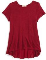 Soprano Girl's Pleated Back Shirt