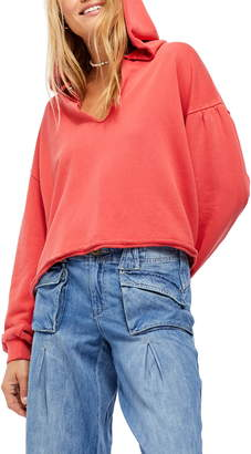 Free People Sunrise Sunset Hooded Pullover