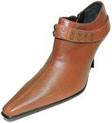 "Donald J Pliner Women's Mars Leather Ankle Boot, 3"" Heel Bootie, Size 5 M"