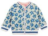 Stella McCartney Infant Girl's Daisy Print Reversible Bomber Jacket