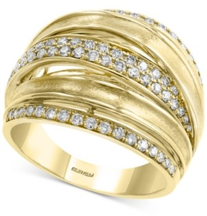 Effy Diamond Multi-Band Statement Ring (5/8 ct. t.w.) in 14k Gold