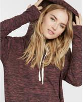 Express marled hooded sweatshirt dress
