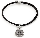 Alex and Ani Spider Web Pull Cord Bracelet