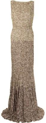 Rachel Gilbert Ava bead-embellished gown