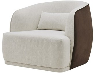 Colvard Fabric Barrel Chair Loon Peak