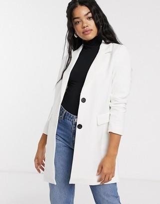JDY Inell smart coat-White