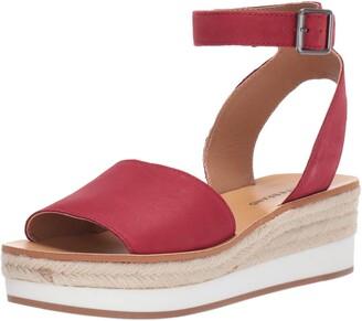Lucky Brand Women's JOODITH Espadrille Wedge Sandal