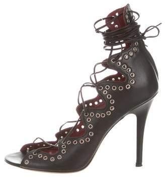 Isabel Marant Ghillies Lace-Up Pumps