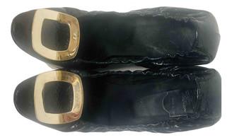 Roger Vivier Belle Vivier Black Patent leather Ballet flats