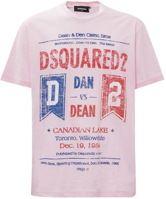 DSQUARED2 The Match Printed T-Shirt