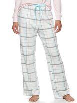 Croft & Barrow Women's Pajamas: Microfleece Pajama Pants