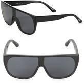 Kid's Pow Flat-Top Shield Sunglasses