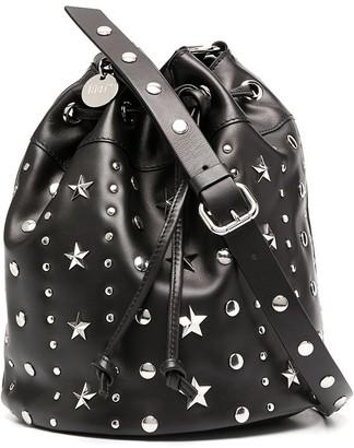 Red(V) Sky Combat bucket bag