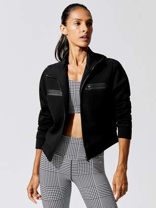 Running Bare Playing The Field Cropped Bomber Jacket