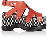 Proenza Schouler Women's Platform Slingback Sandals-Black