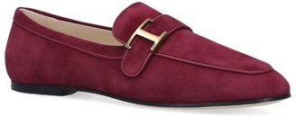 Tod's Suede Cuoio Loafers