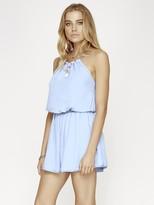 The Jetset Diaries Radiant Strap Dress in Vista Blue