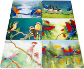 Maxwell & Williams Birds of Australia Katherine Castle Placemats Set 6 34x27cm