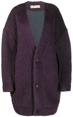 Marni Mohair Teddy Coat