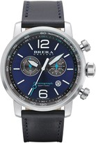 Brera Men's Dinamico Chronograph Leather Strap Watch