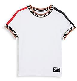 Burberry Little Boy's & Boy's Icon Stripe Tee