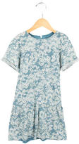 Stella McCartney Girls' Floral Print Knit Dress