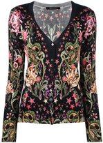 Roberto Cavalli 'Galaxy Garden' cardigan - women - Silk/Cashmere/Wool - 42