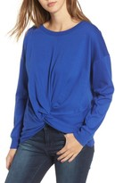 Socialite Women's Twist Front Pullover