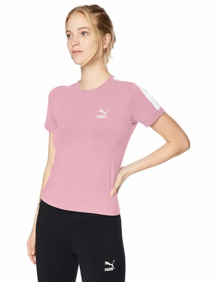 Puma Women's Classics Tight T7 Tee Shirt