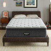 """Simmons 14.75"""" Plush Pillow Top Mattress and Box Spring Mattress Size: Twin, Box Spring Height: Low Profile"""