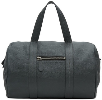 Maison Margiela Grey Leather Duffle Bag