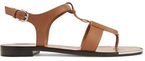 Salvatore Ferragamo Embellished Leather Sandals
