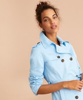 Brooks Brothers Water-Repellent Cotton Twill Trench Jacket