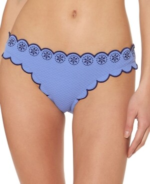 Jessica Simpson Scalloped-Edge Bikini Bottoms Women's Swimsuit