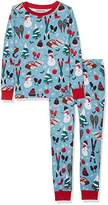 Hatley Little Blue House by Boy's Long Sleeve Printed Pyjama Sets