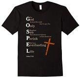 Gospel God Only Son Perish Everlasting Life John 3:16 Shirt