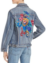 Sunset & Spring Floral Explosion Jean Jacket - 100% Exclusive